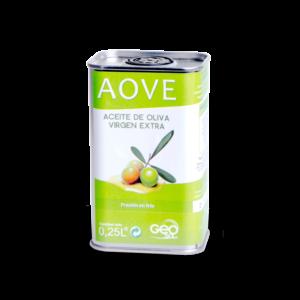 AOVE GeoSol Botella ¼ de litro